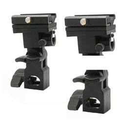 10 x Flash Shoe Holder Light Stand Mount with Top Screw, 10 mountB
