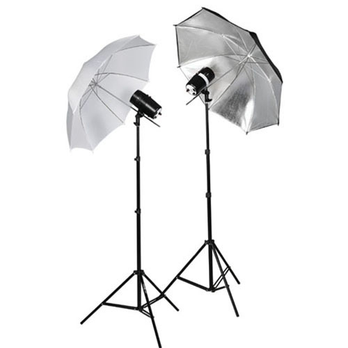 Studio Lighting Techniques For Product Photography: 2X110WSTROBE-2X803-1W1SUMBKIT