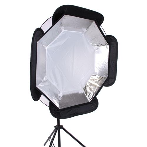 Studio Continuous Lighting Vs Flash: 37in Speedlite Softbox