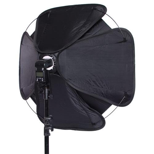 Octagon Umbrella Speedlite Softbox: 37in Speedlite Softbox