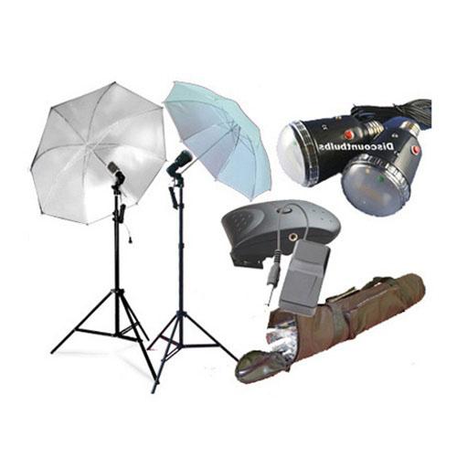 Cowboy Studio Lighting Kit Setup: 45WWIRELESSKITCASE