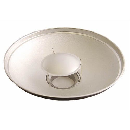 "Alien Bees Beauty Dish: Beauty Dish 24"" With Speedring For Alien Bees Strobe Light"