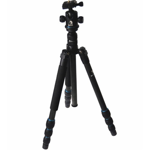 Beike Trans Functional Travel Angle Carbon Fiber Tripod