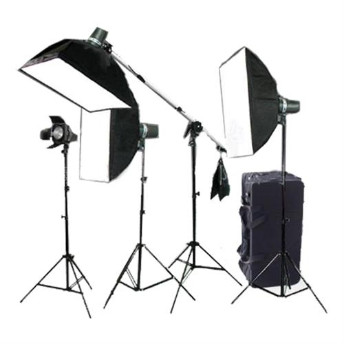 Cowboy Studio Lighting Kit Setup: CB4400KIT
