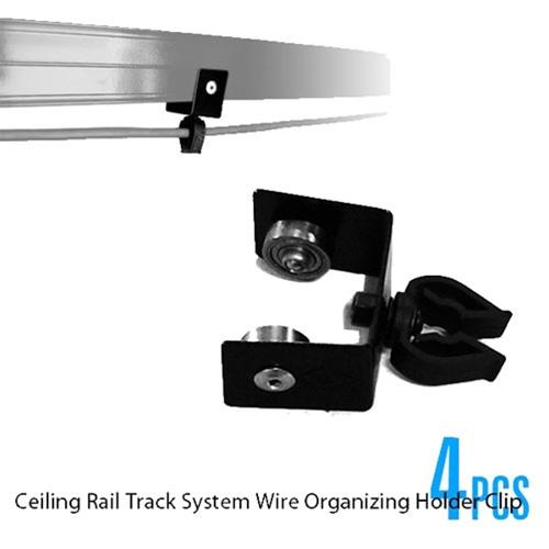 Studio Lighting Rail System: CEILING RAIL HOLDER CLIP (4