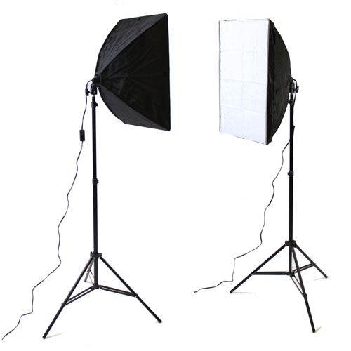 Soft Studio Lighting Kit: Photography Studio Video Quick Softbox Lighting Light Kit
