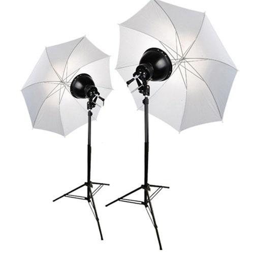 Studio Continuous Lighting Vs Flash: FL08 KIT