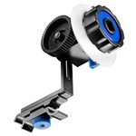 Follow Focus Finder F0 With Gear Belt and Quick Release Clamp for 15mm Rod Support DSLR