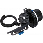 Follow Focus F3 with Gear Belt for 15mm Rod Support DSLR and Video Cameras (F3 With Two Hard Stops)