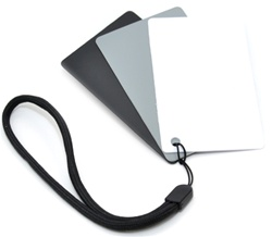 3in1 Digital Grey Card and White Balance Card Set, GC-2