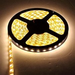 GreenWatt 16ft LED Strip Light Warm White with 6 Color Options, GST-5050-60L-IP44
