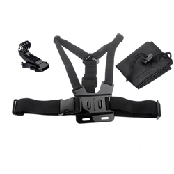 Adjustable Chest Harness Mount with J Hook Mount for GoPro Hero 1 2 3 3+ 4 cameras
