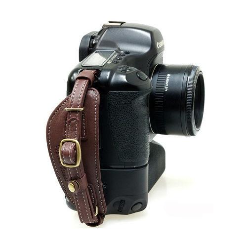Herringbone Heritage Leather Camera Hand Grip Type 1 Hand