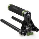 LanParte Top Handle Grip TH-01 With 2 pcs 15mm rod for Camera DSLR DV Support Rig C Arm; LANPARTE TOP HANDLE TH-01