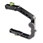 Lanparte C Support Cage Clamp for 15mm Rail Rig System (Dslr Video), Lanparte CA-01
