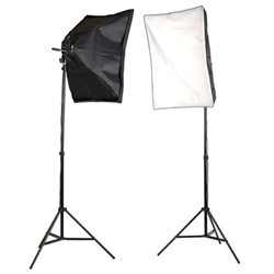 Photo Studio Lighting Softbox Video 4 Head Light Kit, M-VL9004