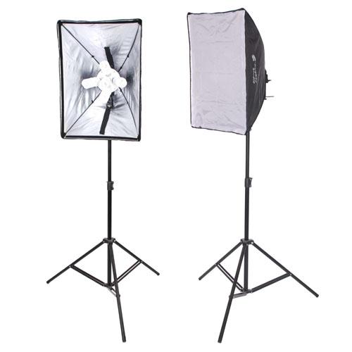 Studio Continuous Lighting Vs Flash: N-2000wkit