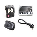 NPT-04 4 Channel Wireless Hot Shoe Flash Trigger & Receiver SET, NPT-04
