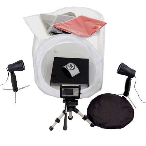 Studio Lighting Kit Amazon: Photo Studio Table Top Lighting Kit