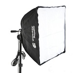 Square Quick Setup Softbox with AC Socket (3 Size Options), QUICKSOFTBOX_SQUARE