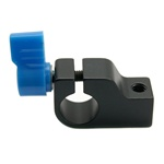 Professional Mount Rail Block Rod Clamp Rig for 15mm Rod DSLR Rig Rail System Follow Focus, ROD CLAMP
