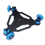Triangle Dolly Kit Table Skater 3 Wheel Camera Truck For DSLR Camera Video, TRIANGLE SKATE DOLLY