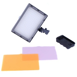 176 LED Dimmable Camera Camcorder On-Camera Bi-Color Light Panel, VL-176A