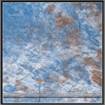 Hand Painted Tie Dye Blue / Brown Muslin Backdrop (3 Size Options), W001