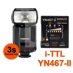 Yongnuo TTL Flash Speedlite YN-467 II for Canon Camera, YN467II