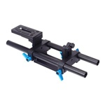 FOTGA DP500 II DSLR Rail 15mm Rod Support System with Quick Release Plate