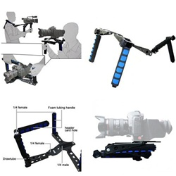 Premium Movie Kit Shoulder Mount, Shoulder Support Pad for Video Camcorder Camera DV / DC,  MOVIE KIT