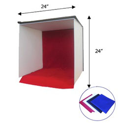 Easy-carry Square Photo Light Tent In-a-box, SQUARE TENT