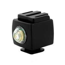Flash Slave Trigger Wireless Hot Shoe Optical Adapter for Sony, SYK-6