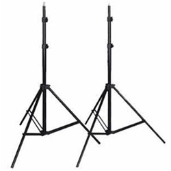 Ten 7 ft Aluminum Adjustable Light Stand, W803 Light Stand, 10 X 803