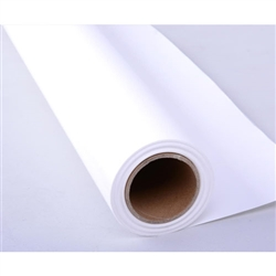 "CowboyStudio Seamless Background Paper, 107"" wide x 12 yards, Super White, Made in Germany"