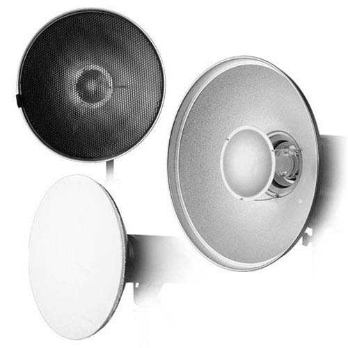 22 Photography Studio Beauty Dish For Alien Bees And White Lightning Strobe Lights With Grid