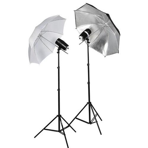 Studio Lighting Cheap: 2X110WSTROBE-2X803-1W1SUMBKIT