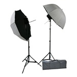 Photography Studio Off Camera Flash Mount B Umbrella Softbox Brolly Box Light Stand Kit
