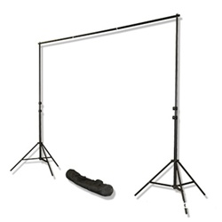 10 Ft Heavy Duty Backdrop Support System, 3000