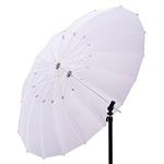 57in Soft White Diffuser Umbrella for Photo and Video Studio