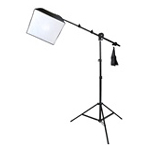 Photo Studio Single Boom Softbox Lighting Kit with Sandbag, 400 Watt Output,  8051-CBOOM-16EZSOFTBOX-105W