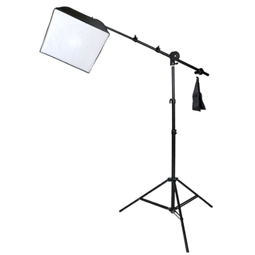 Photo Studio Single Boom Softbox Lighting Kit with Sandbag 400 Watt Output 8051-  sc 1 st  Cowboy Studio & 8051-CBOOM-16EZSOFTBOX-105W
