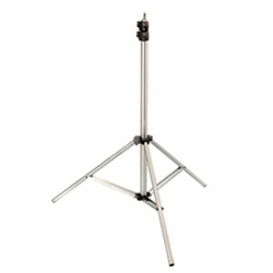 Premium 9' Heavy Duty Air Cushioned Video Studio Light Stand Silver - 806A Silver