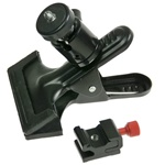 Studio Multi-function Swivel Flash Clamp with Hot Shoe Mount Flash Adapter, A-283CLAMP-HOTSHOE