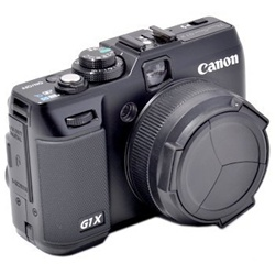 ALC-G1X Camera Auto Lens Cap Cover for Canon PowerShot G1X / Black PC Lens Cover for Canon PowerShot G1X, ALC-G1X LENS CAP