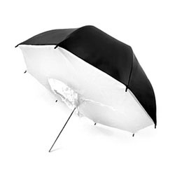 33/40/43 Inch Black/White Umbrella Softbox Brolly Box, B/W BROLLY