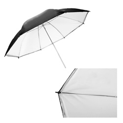 Black/White Reflective Photo Studio Umbrella, B/W UMB
