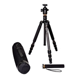Beike Carbon Fiber Tripod Camera Monopod Ball Head for DSLR DC DV, BK-476