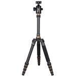 Beike BK-777 180°Folded design Alu-alloy Camera Tripod Monopod with Ball Head & Carrying Bag
