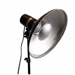 "22"" Beauty Dish Reflector for Monolight Strobe Flash, BOWEN BEAUTYDISH"